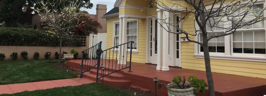 Restoration of mismatched concrete in Mission Hills